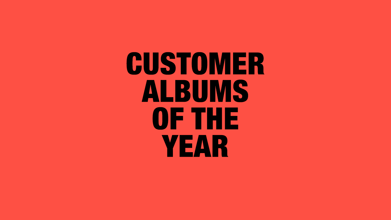UK Customer Albums of the Year